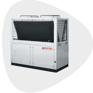 Commercial Air Source Heat pumps in India | Suntec Energy Systems