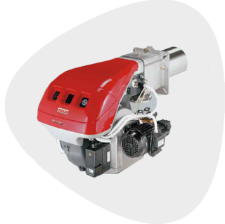 Two Stage Dual Fuel Burners - RLS Series