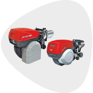 Low NOx Dual Fuel Burners