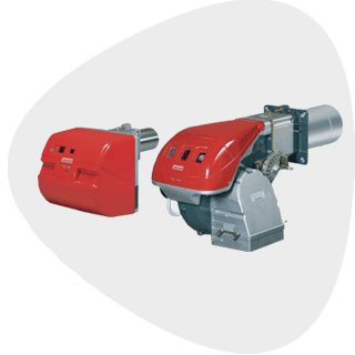 RS Series - Two Stage Progressive Gas Burners - Suntec Energy System