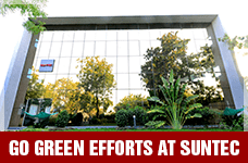 Go Green Efforts At Suntec | Suntec Energy Systems