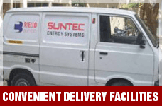 Convenient Delivery Facilities | Suntec Energy Systems