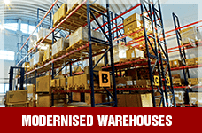 Modernised Warehouses | Suntec Energy Systems
