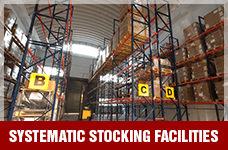 Systematic Stocking Facilities | Suntec Energy Systems
