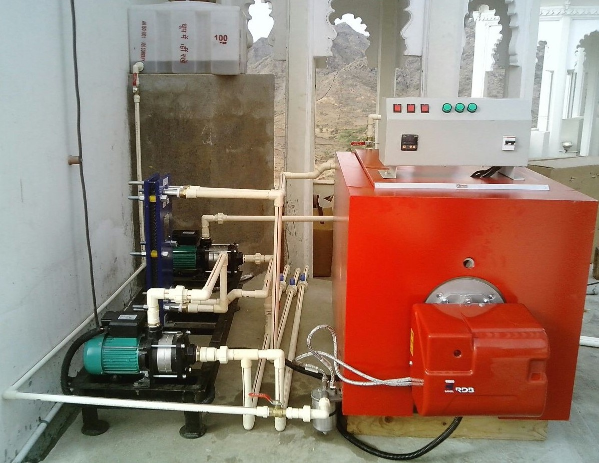 Hot Water Boilers 04 - Suntec Energy System