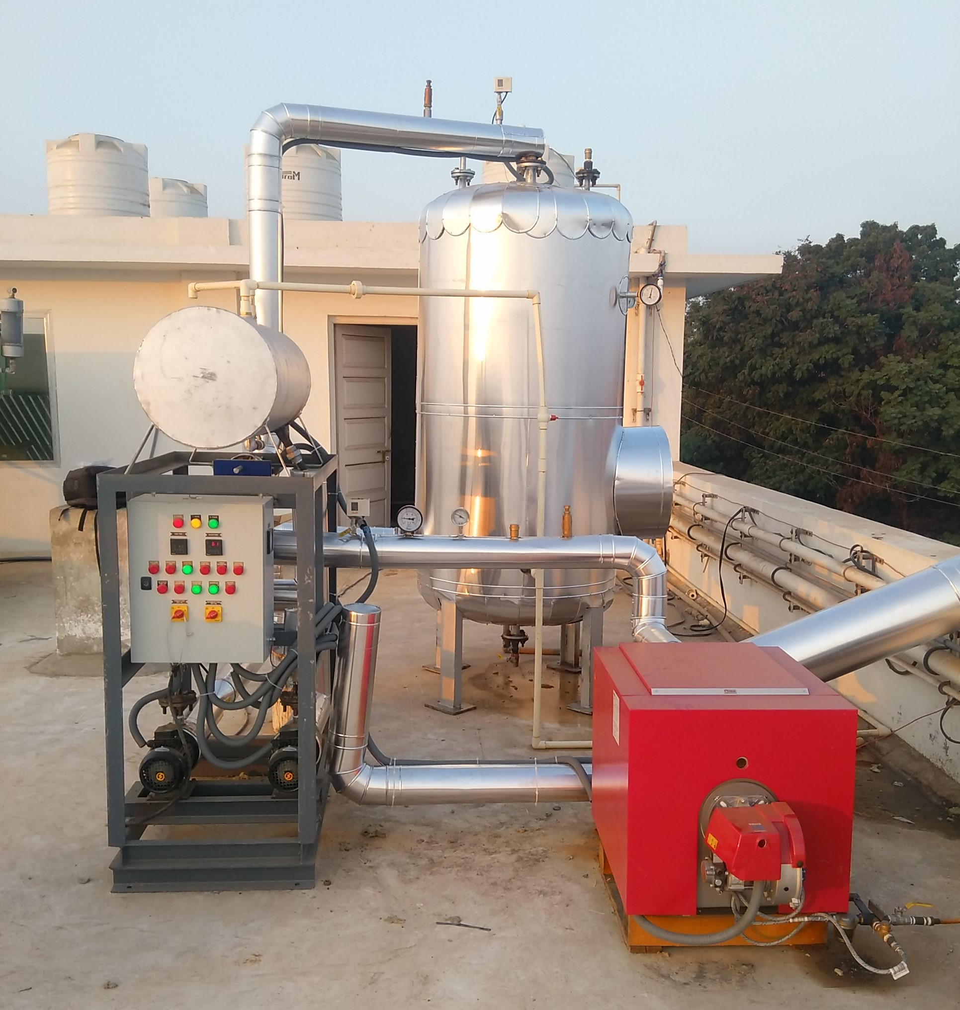 Hot Water Boilers 06 - Suntec Energy System